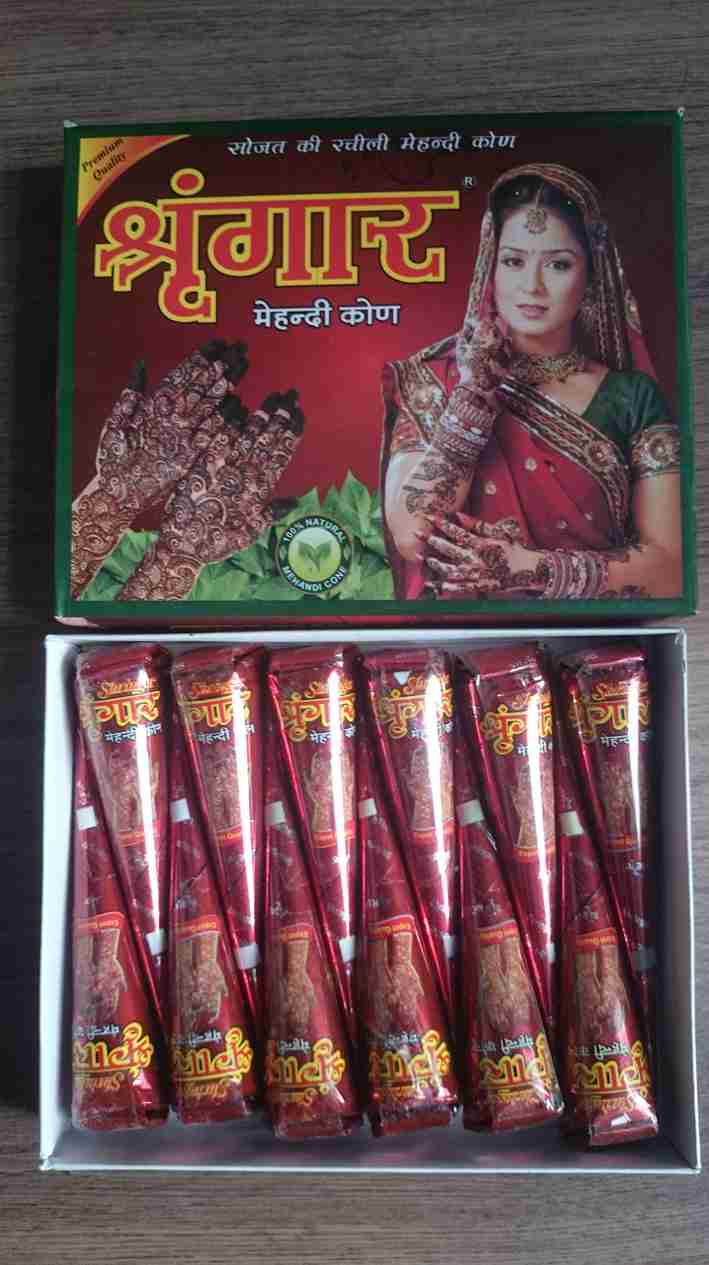 wholesale indian henna cones