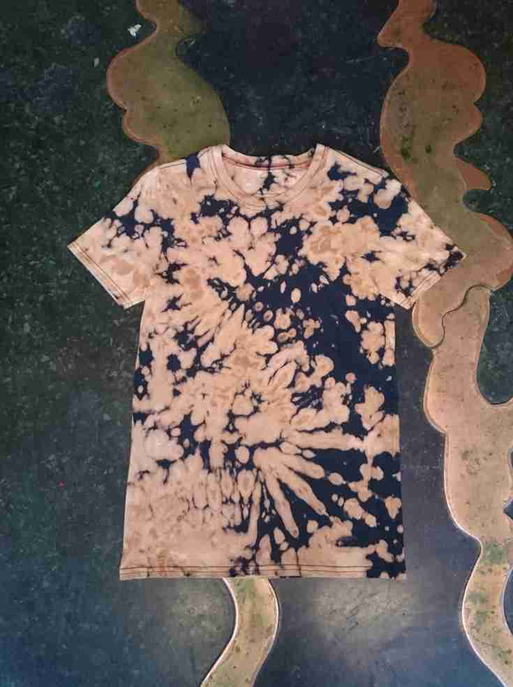 Acid wash Scrunch T Shirt