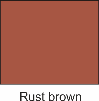 rust brown