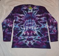 urple Totem Long Sleeve handmade T shirt