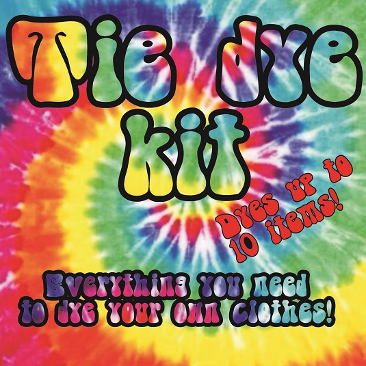 Tie dye kits & supplies