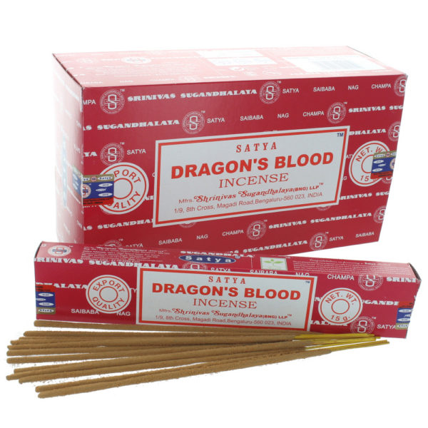dragons blood satya incense