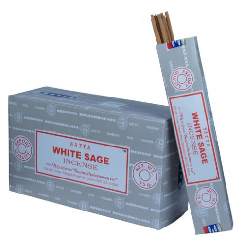 white sage satya incense